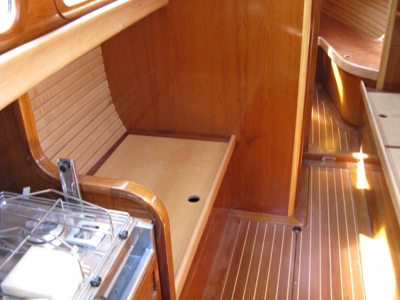 neuer innenausbau boots yacht werkstatt